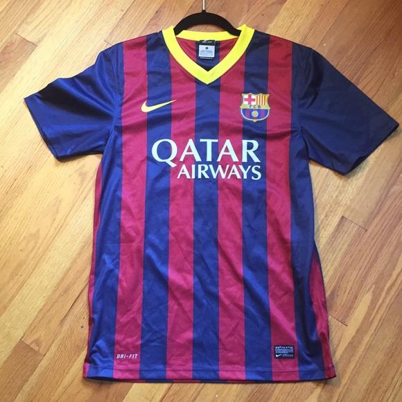 5342eb6cd46 Lionel Messi FC Barcelona Soccer Jersey Nike. M 5b803f491e2d2d2d8599d69e